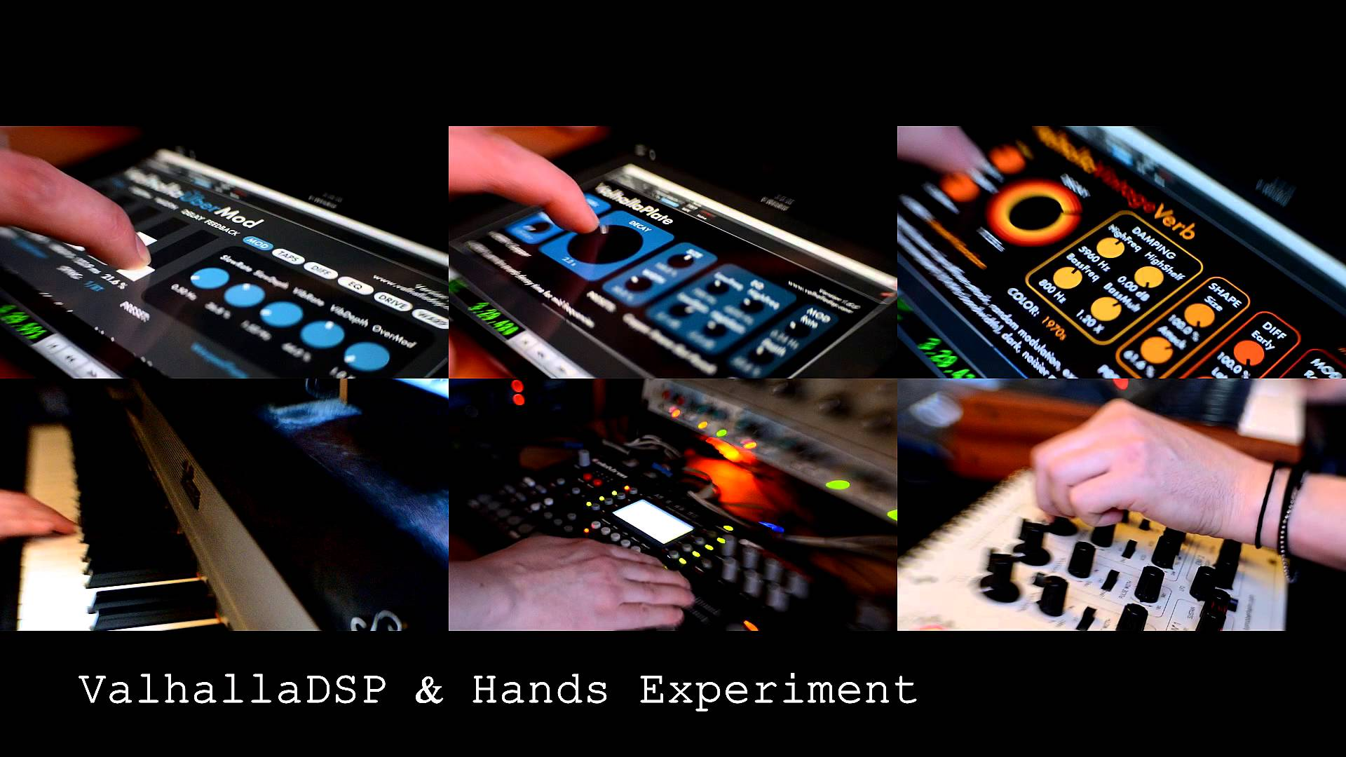 Valhalla DSP & Hands Experiment