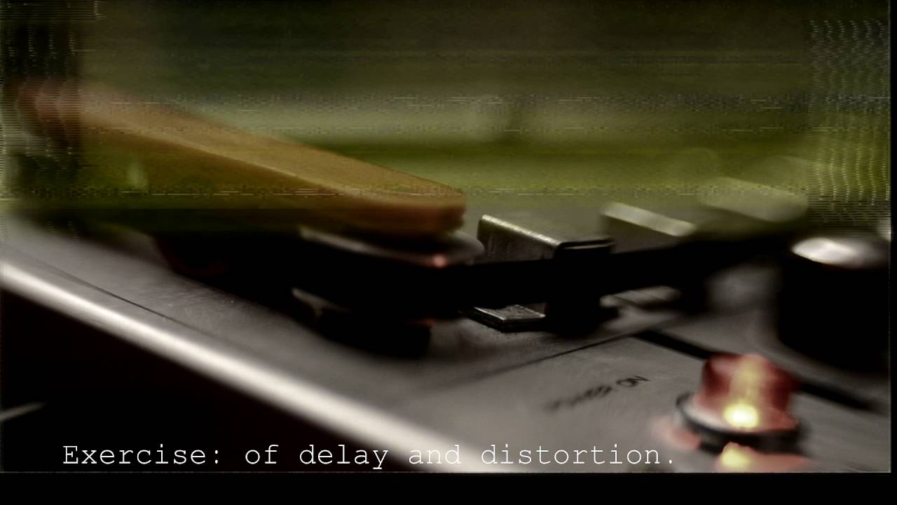 Exercise: of delay and distortion. (The Closest Lie)